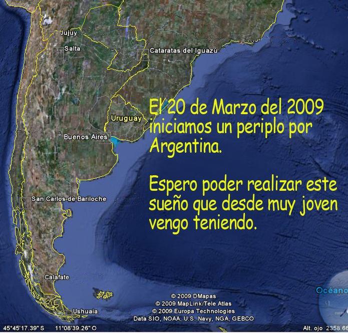 De viaje por la Argentina