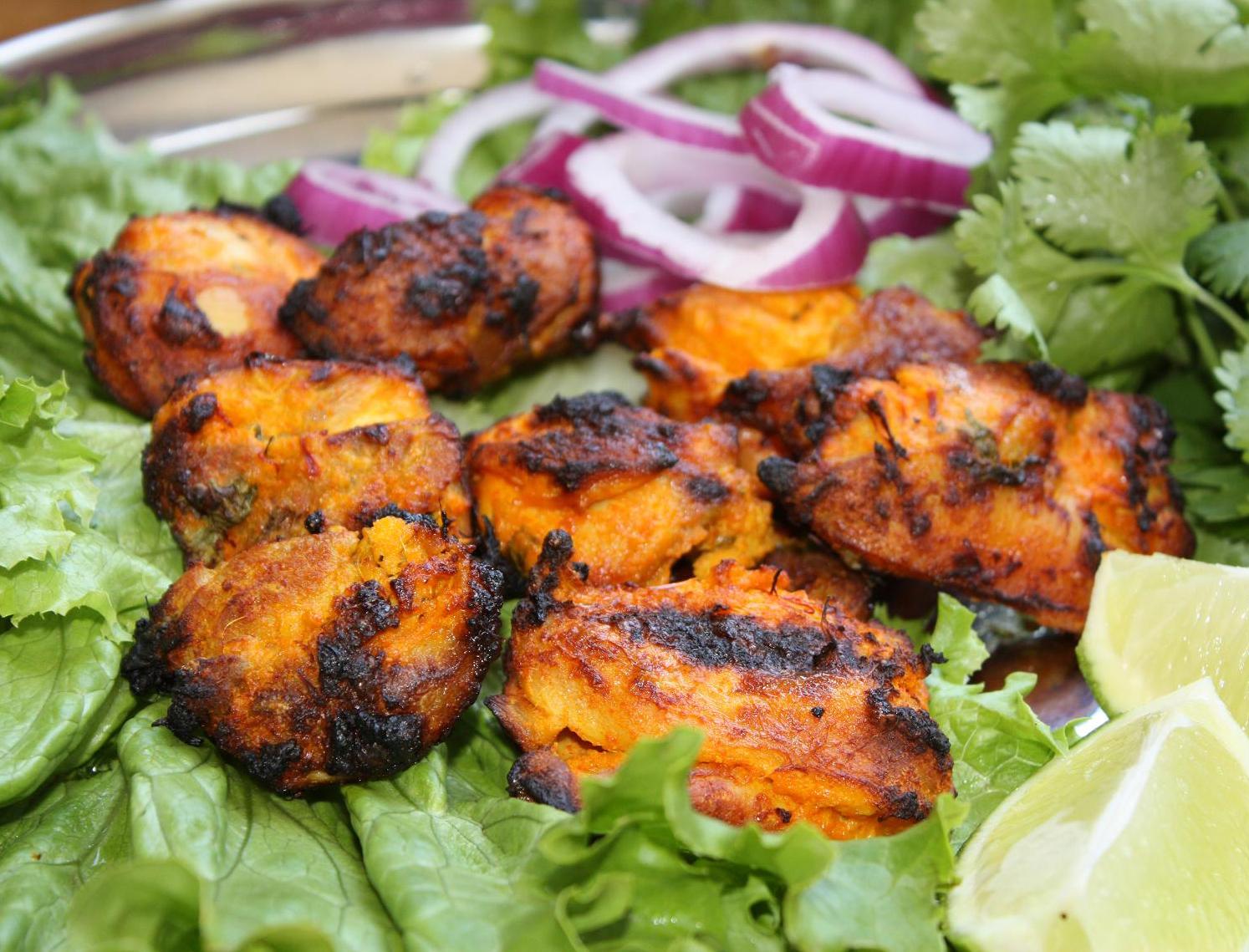Scrumpdillyicious: Grilled Chicken Tikka & Paneer Tikka