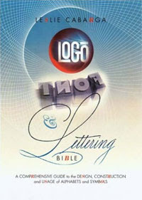 Logo, Font and Lettering Bible, illustrator, graphic designer, Leslie Cabarga