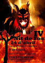 Cartell IV Nit de Foc a Castellbisbal