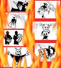 Imatges del foc de castellbisbal