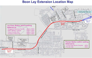 BLE Joo Koon Location Map (from LTA)