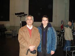 Con Fernando Peralta