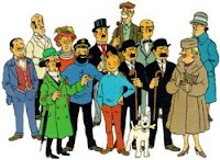 tintin, european comic