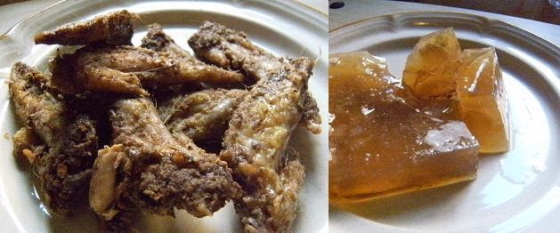 how to make chicken stock from roasted chicken bones