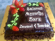 Moist Choc Cake Hantaran