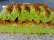 Kek Pandan Kelapa
