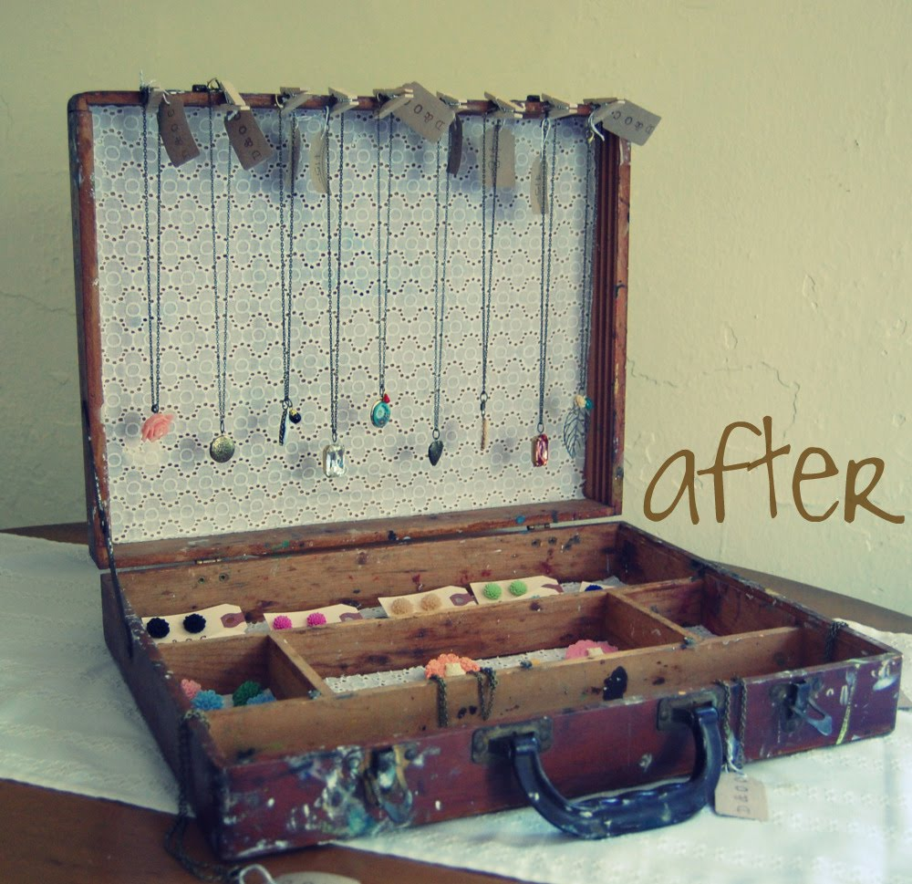 Lifestyle Bohemia Down And Out Chic S Diy Jewelry Display