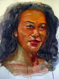 Watercolor female