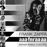 The FRANK ZAPPA aaafnraaaa Birthday Bundle