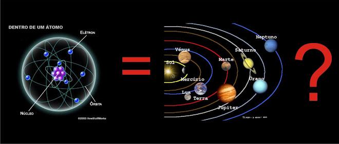 A Ciência atua do muito pequeno ao muito grande.
