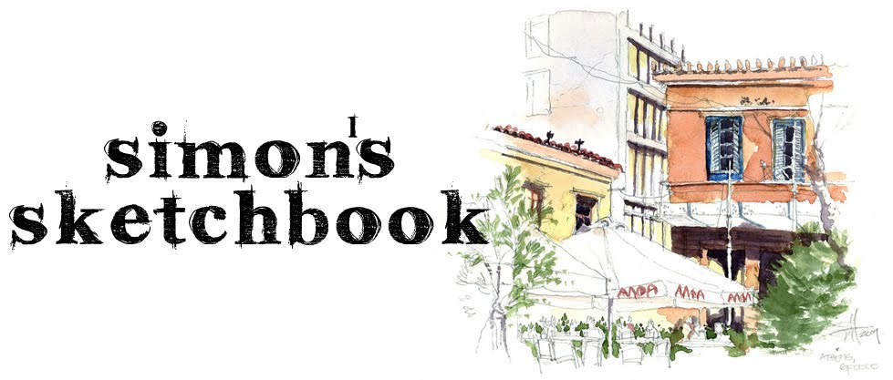 Simon Hibbert's Sketchbook