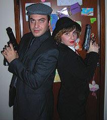 Paris e Maria Tsachouridis in azione...