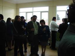 Director de nuestro Colegio junto a la Directora de la Escuela Especial