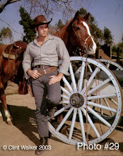 clint walker wearing a hat