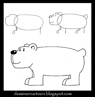 Dessiner cartoon october 2009 - Comment dessiner un ours ...