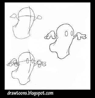 how to draw a minotaur head step by step