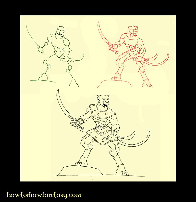 November 2010 - Comment dessiner un tigre ...