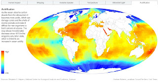 NYT Acidification Impact Map
