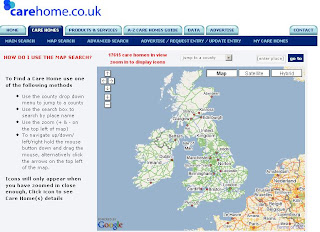 Care Home Map - UK