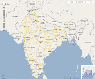 Google Maps India