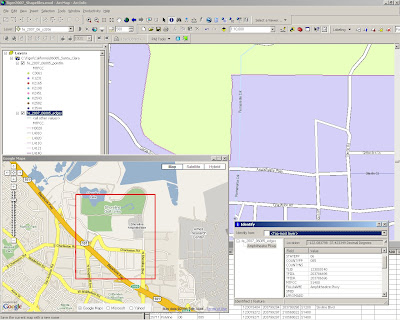 Tiger 2007 Data Direct ArcMap