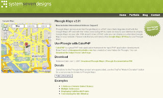 Phoogle Maps PHP with Google Maps and Yahoo Geocoder