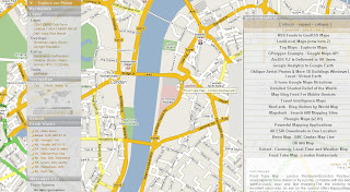 GeoRSS Blog Feed Mapperz Google Map