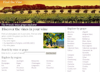 Find the wine map site