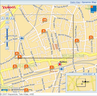 Yahoo Local Map Dynamic