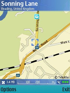 N95 Maps GPS Active