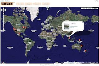 VeoGeo Video Map Tracking