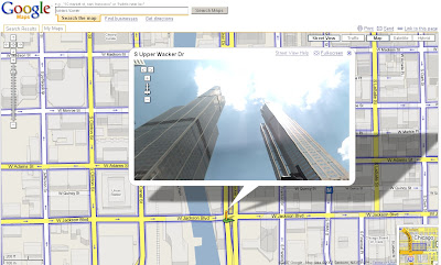 Sears Tower - StreetView - Now Look Up