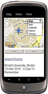 Mobile GeoRSS Maps