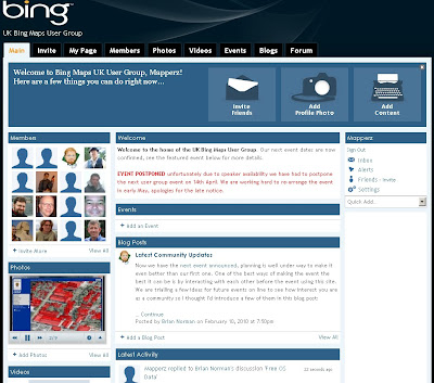 Bing Maps UK User Group