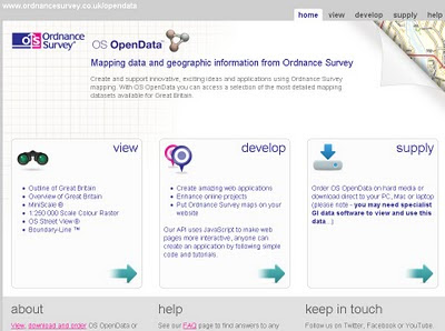 Ordnance Survey Open Data