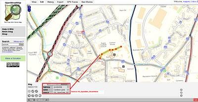 OS OpenData StreetView OSM editor Potlatch