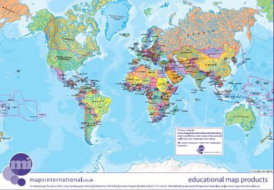 Maps International Educational Free Maps - World