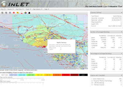 INLET Earthquake Simulator