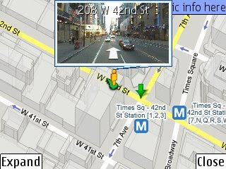 StreetView on Nokia N82