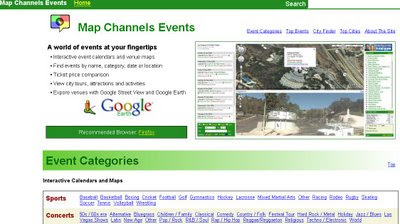 Map Channels Events - New