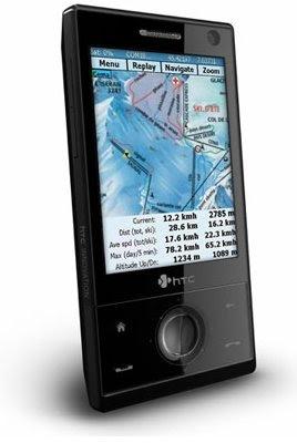 SatSki on SmartPhone