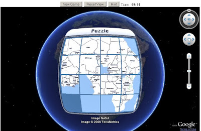 Puzzler Earth Game