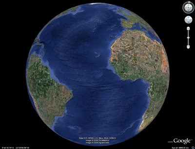 Google Earth Bathymetry