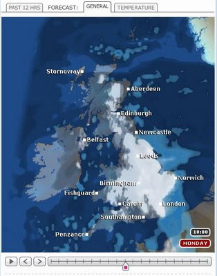 BBC Weather - Revamp New Maps