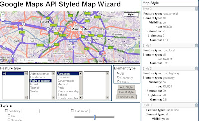 Google Maps API Styled Map Wizard better carto