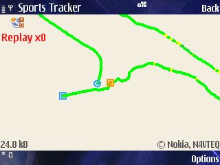 Sports Tracker GPS fix quality