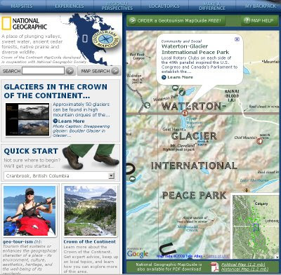 National Geographic GeoTourism - MapGuides
