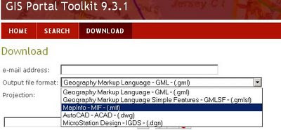 ArcGIS 9.3.1 Download data no shapefile?