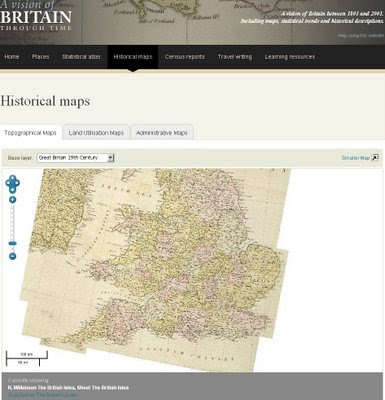 Vision of Britain - Historical Maps